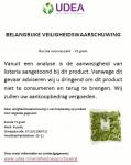 Advertentie terugroepactie Puur NL Rucola