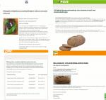 Advertenties allergenenwaarschuwingen bio meergranenbrood COOP, PLUS, Poiesz Supermarkten en ALDI
