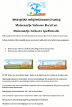 Advertentie allergenenwaarschuwing Molenaartje Volkoren Biscuits en Speltbiscuits