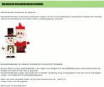 Advertentie terugroepactie adventskalenders Prijsmepper