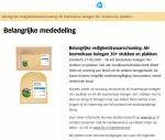 Advertentie terugroepactie AH Boerenkaas Belegen 30+ (bijgewerkt)