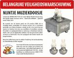Advertentie terugroepactie Nijntje Muziekdoos