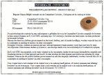 Advertentie terugroepactie Camembert Calvados (Speciaalzaken)