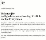 Advertentie terugroepactie Olcay Gulsen Kruik in Furry hoes