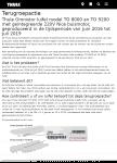 Advertentie terugroepactie Thule Omnistor T8000 en T9200 luifels