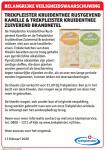 Advertentie terugroepactie Trekpleister Kruidenthee Rustgevend Kamille en Zuiverend Brandnetel