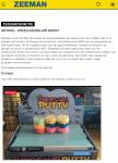 Advertentie terugroepactie Speelgoedslijm Dinosaur Bouncing Putty (Zeeman)