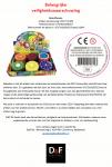 Advertentie veiligheidswaarschuwing Fruit Slime speelgoedslijm