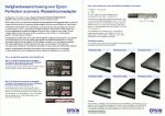 Advertentie terugroepactie voedingsadapters Epson Perfection scanners