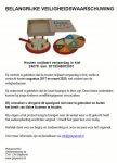 Advertentie terugroepactie Houten snijtaart verjaardag in kist
