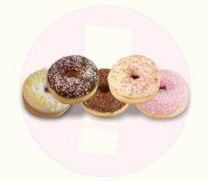 Allergenenwaarschuwing donuts met decoratie (SPAR)