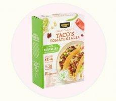 Allergenenwaarschuwing Jumbo pakket Taco's Tomatensalsa
