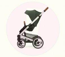 Veiligheidswaarschuwing Mutsy Nio kinderwagen