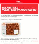 Advertentie allergenenwaarschuwing Vomar Shoarmavlees