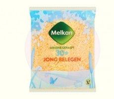 Terugroepactie Melkan Geraspte Kaas Jong Belegen 30+ (Boni)