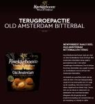 Advertentie allergenenwaarschuwing Kwekkeboom Oven & Airfryer Old Amsterdam Bitterballen