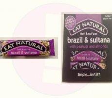 Terugroepactie Eat Natural Brazil & Sultana repen