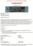 Advertentie terugroepactie HEMA Natural Bar fruit & nut