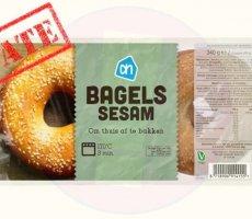 Update terugroepactie Albert Heijn AH Bagels Sesam
