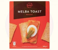 Allergenenwaarschuwing Backers Melba Toast (ALDI)