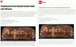 Advertentie allergenenwaarschuwing Brownie Fudge Cake Dirk en DekaMarkt