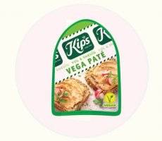 Allergenenwaarschuwing Kips Vegetarische Paté