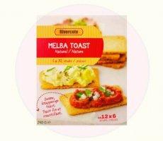 Allergenenwaarschuwing Rivercote Melba Toast (Lidl)