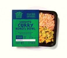 Allergenenwaarschuwing Uit de Keuken van Maass Groente curry kokos bowl