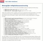 Advertentie terugroepactie producten met sesam DEEN - v5