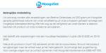Advertentie terugroepactie gerijpte geitenkaas Hoogvliet