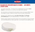 Advertentie terugroepactie Jan Linders Chevre blanc