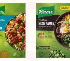 Terugroepactie Knorr maaltijdpakketten Beef Shanghai en Miso Ramen