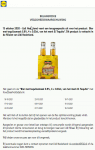 Advertentie terugroepactie El Tequito bier (Lidl)