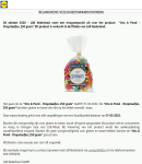 Advertentie allergenenwaarschuwing Lidl Ons & Pond Dropstaafjes