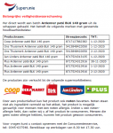 Advertentie allergenenwaarschuwing Ardenner paté diverse supermarkten