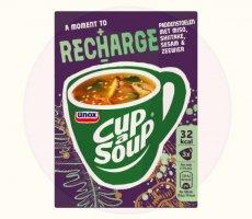 Terugroepactie Unox Cup a Soup Recharge Champignon