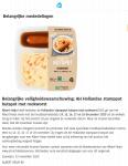 Advertentie belangrijke veiligheidswaarschuwing AH Hollandse Stamppot Hutspot met Rookworst