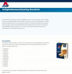 Advertentie terugroepactie Atkins Multi Seed Broodmix