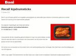 Advertentie gekruide kipdrumsticks Boni Supermarkten