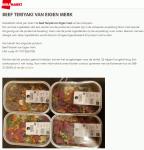 Advertentie allergenenwaarschuwing DekaMarkt Maaltijd Beef Teriyaki