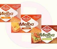 Terugroepactie Van der Meulen Melba Toast