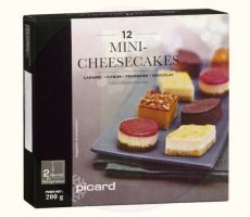 Allergenenwaarschuwing Picard Mini-Cheesecakes (Albert Heijn)