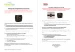 Advertentie veiligheidswaarschuwing HomeVap en Brink EVAP luchtbevochtiger accessoire