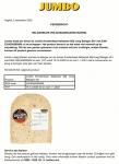 Advertentie allergenenwaarschuwing Jumbo Kruidenkaas Italiaanse Stijl Jong Belegen