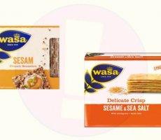 Terugroepactie WASA crackers met sesam