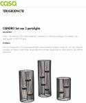 Advertentie terugroepactie CASA partylights Cilindro