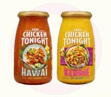 Terugroepactie Chicken Tonight Hawaï en Chicken Tonight Kerrie