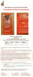 Advertentie allergenenwaarschuwing Lovechock Little Love Dark Vanilla chocoladerepen