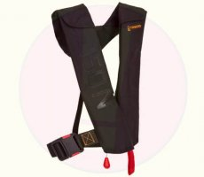 Veiligheidswaarschuwing Decathlon Tribord reddingsvest