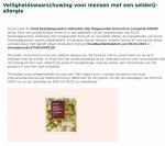 Advertentie allergenenwaarschuwing PLUS Roerbakgroenten Broccoli & Courgette